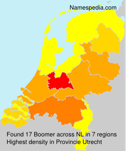 Surname Boomer in Netherlands