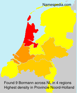 Surname Bormann in Netherlands