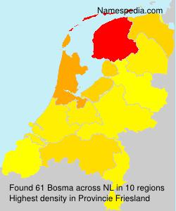 Surname Bosma in Netherlands