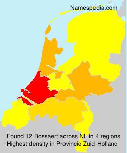 Surname Bossaert in Netherlands