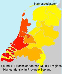 Surname Bosselaar in Netherlands