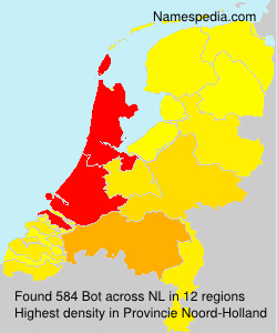 Surname Bot in Netherlands