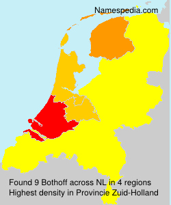 Surname Bothoff in Netherlands