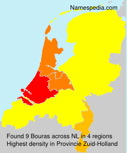 Surname Bouras in Netherlands