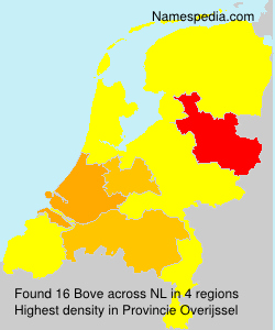 Surname Bove in Netherlands