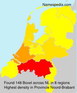 Familiennamen Boxel - Netherlands