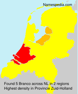 Surname Branco in Netherlands