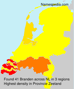 Surname Branden in Netherlands