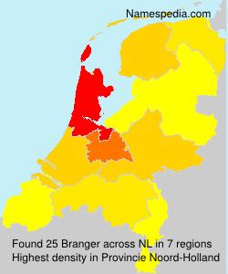 Surname Branger in Netherlands