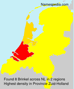 Surname Brinkel in Netherlands