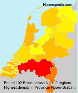 Surname Brock in Netherlands