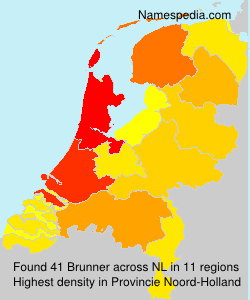 Surname Brunner in Netherlands