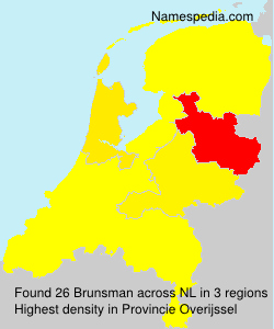 Surname Brunsman in Netherlands