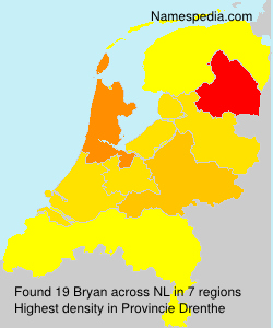 Surname Bryan in Netherlands