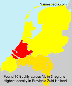 Surname Buchly in Netherlands