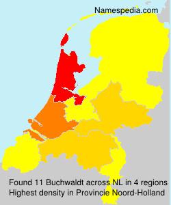 Familiennamen Buchwaldt - Netherlands