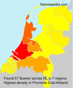 Surname Bueren in Netherlands