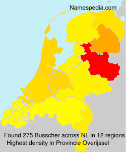Surname Busscher in Netherlands