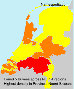 Surname Buyens in Netherlands