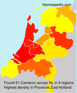 Surname Cameron in Netherlands