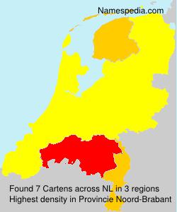 Surname Cartens in Netherlands