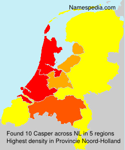 Surname Casper in Netherlands