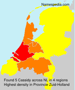 Surname Cassidy in Netherlands