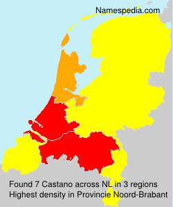 Familiennamen Castano - Netherlands