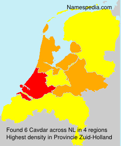 Surname Cavdar in Netherlands