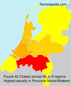 Surname Chabot in Netherlands
