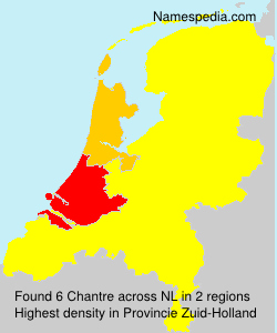 Surname Chantre in Netherlands