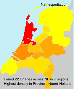 Surname Charles in Netherlands