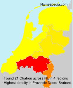 Familiennamen Chatrou - Netherlands