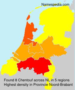 Familiennamen Chentouf - Netherlands