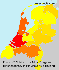 Surname Ciftci in Netherlands