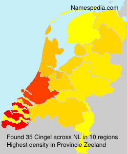 Surname Cingel in Netherlands