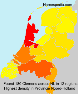 Surname Clemens in Netherlands