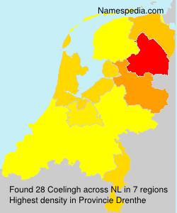 Surname Coelingh in Netherlands