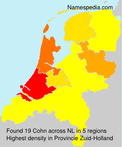 Surname Cohn in Netherlands