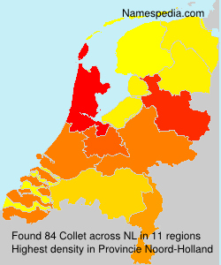 Surname Collet in Netherlands