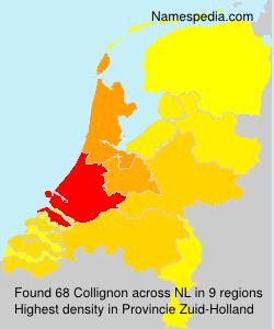 Surname Collignon in Netherlands