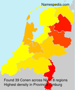 Surname Conen in Netherlands