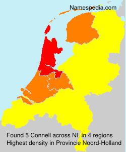 Surname Connell in Netherlands