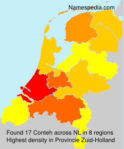 Surname Conteh in Netherlands