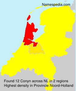 Surname Conyn in Netherlands
