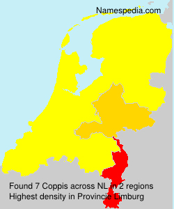Surname Coppis in Netherlands