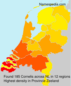 Surname Cornelis in Netherlands