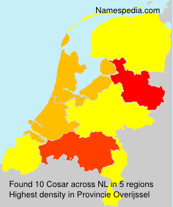 Surname Cosar in Netherlands