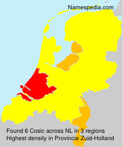 Surname Cosic in Netherlands
