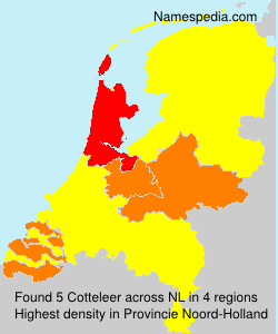 Surname Cotteleer in Netherlands